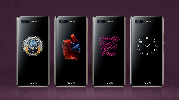 ZTE Nubia X rear display 1280 720