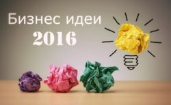 business ideas 2016