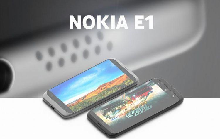 Nokia E1 smartphone gaming