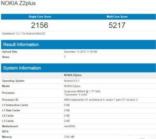 Nokia Z2 Plus 1