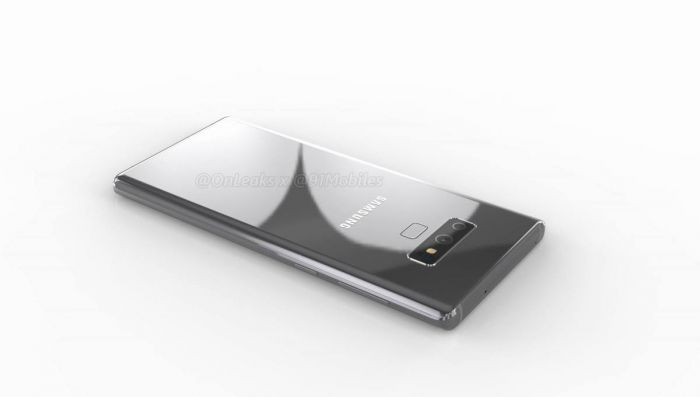 Samsung Galaxy Note 9 render 91mobiles 1